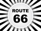 Route 66 — Stock Vector