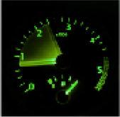 Tacômetro - acelerando — Vetorial Stock