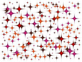 Colorful background stars pattern — Stok Vektör