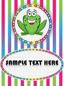 Crazy frog — Stock Vector