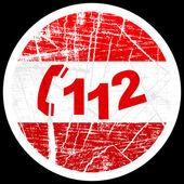 Acil telefon numarası — Stok Vektör