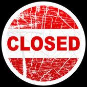 Zamknięta pieczęć — Wektor stockowy