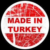 Made in turkey — Stock Vector
