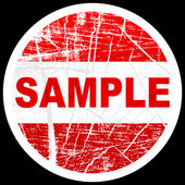 Sample stamp — Stock Vector