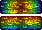 Sale banner — Vector de stock