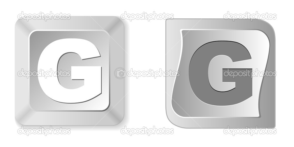 Letter g  Stock Vector #7528763