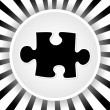 Puzzle piece — Stockvector #7922969
