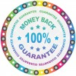 GUARANTEE label — Stock Vector