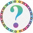 Question button — Stock Vector #7923280
