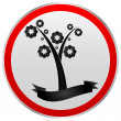 Ecological tree — Vector de stock #7923505
