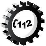 Emergency phone number — Stock Vector #7923682