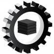 Block icon — Stockvector #7923735
