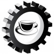 Stock Vector: Cappuccino