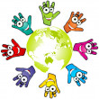 World domination - Stock Vector