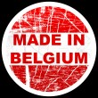 Made in belgium — Stock Vector