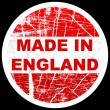Stock Vector: Made in england
