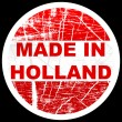 Made in holland — Stock Vector