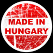 Made in hungary — Stock Vector #7924351