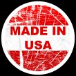 Made in usa — Stock Vector