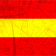 Flag of spain — Vector de stock