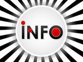 Information background — Stock Vector
