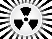 Radiation — Stock Vector