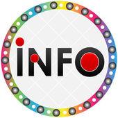 Information button — Stock Vector