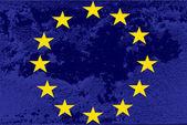 Evropská vlajka — Stock vektor