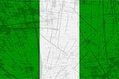 Drapeau du nigeria — Vecteur