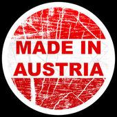 Avusturya'da yapılan — Stok Vektör
