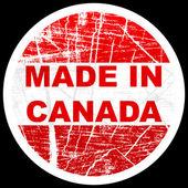 Made in canada — Stockvektor