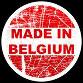 Made in belgium — Vetor de Stock