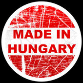 Made in hungary — Stock Vector