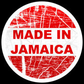 Made in jamaica — Stock Vector