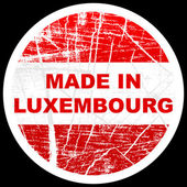 Made in luxembourg — Stock Vector