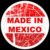 Made in mexico — Stock Vector