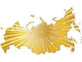 Map of russia — Stock Vector