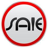 Sale button — Vector de stock