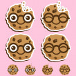 Smart Cookie — Vector de stock #7782555