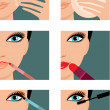 Makeup icons - 