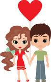 Love... — Stock Vector