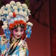 Постер, плакат: Pretty Chinese Opera Actress with rich adornment in head