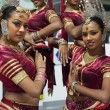 Stock Photo: Sri Lankgirls perform traditional dance