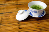 Chinese traditional teacup on the table — Stock Photo