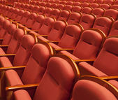 Free theater seats — Stock Photo