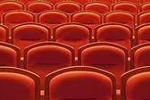 Gratis theater zitplaatsen — Stockfoto