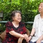 A senior couple — Stock Photo