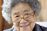 Portrait Of A Happy Grandmother — Stock Photo