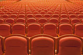 Free theater seats — Stock Photo