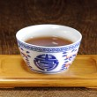 Chinese tea cup — Stock Photo